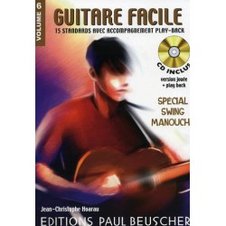 Guitare Facile Vol6 Spécial Swing Manouche Ed Paul Beuscher
