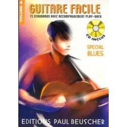 Guitare Facile Vol4 Special Blues Ed Paul Beuscher