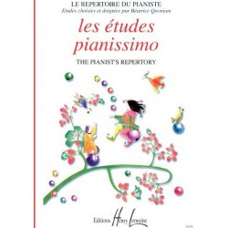 Les études Pianissimo Le Répertoire du Pianiste Béatrice Quoniam Ed Henry Lemoine Melody music caen