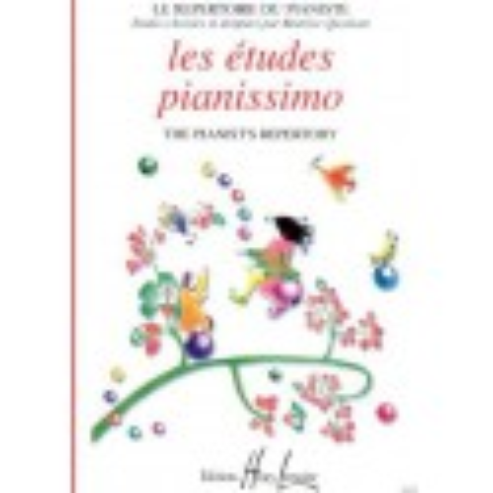 Les études Pianissimo Le Répertoire du Pianiste Béatrice Quoniam Ed Henry Lemoine