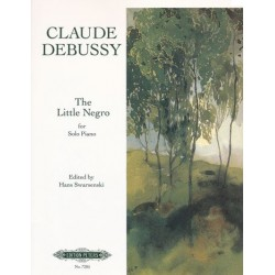 The little negro Claude Debussy Urtext Melody music caen