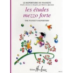 Les études Mezzo Forte Le Répertoire du Pianiste Béatrice Quoniam Ed Henry Lemoine Melody music caen