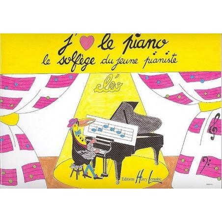 J'aime le piano le solfège du jeune pianiste Cléo Ed Henry Lemoine