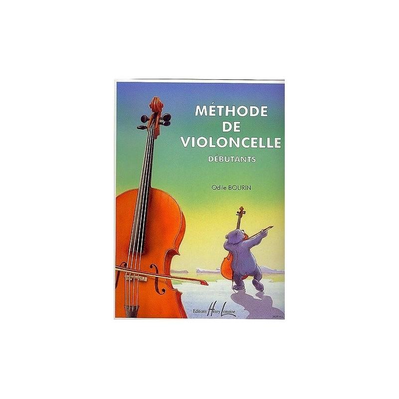 Méthode de violoncelle débutants Odile Bourdin Ed Henry Lemoine Melody music caen