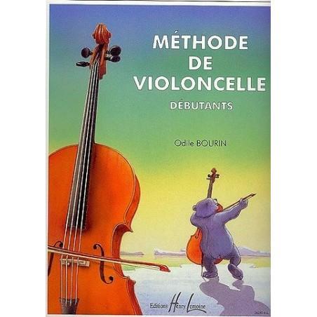 Méthode de violoncelle débutants Odile Bourdin Ed Henry Lemoine