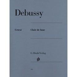 Clair de Lune Debussy Urtext HN391