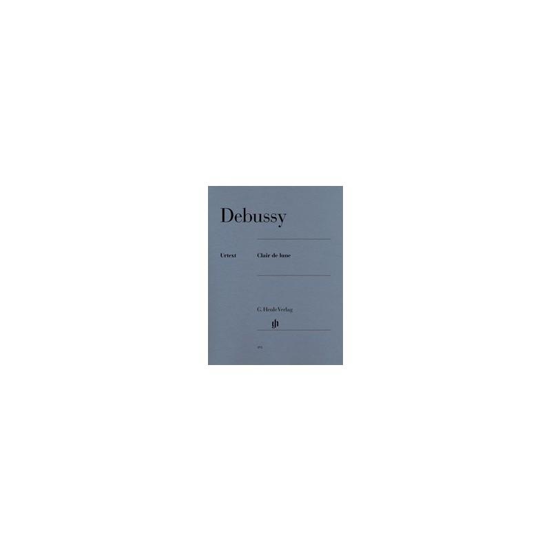 Clair de Lune Debussy Urtext HN391 Melody music caen