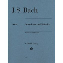 Inventions and Sinfonias HN64 Urtext Bach