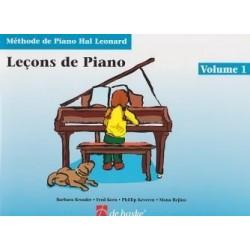 Leçons de Piano Hal Léonard Ed De Haske