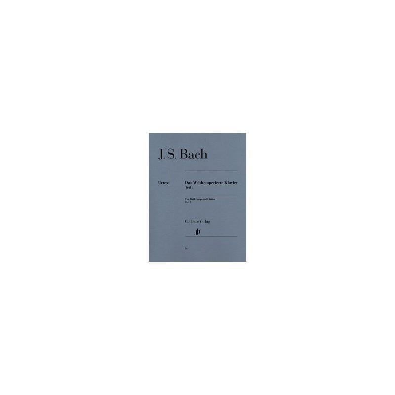 Le clavier bien tempéré Part 1 Urtext Bach HN14 Melody music caen
