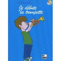 Je débute la trompette Michel Bourguet Ed H.Cube