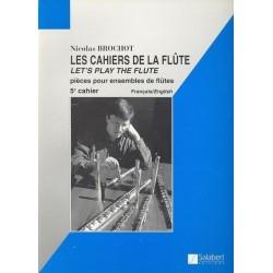 Les cahiers de la flûte Nicolas Brochot Ed Salabert