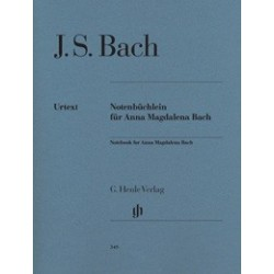 Notebook for Anna Magdalena Bach Urtext HN349