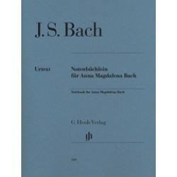 Notebook for Anna Magdalena Bach Urtext HN349