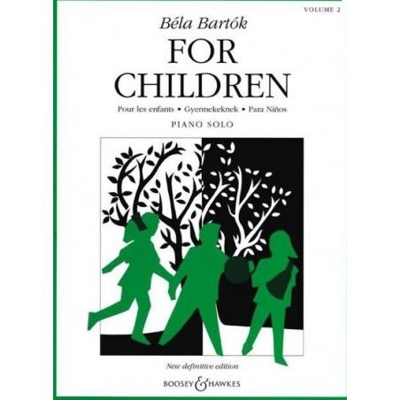 For children vol2 Béla Bartok
