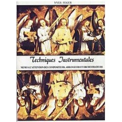 Techniques instrumentales Yves Feger