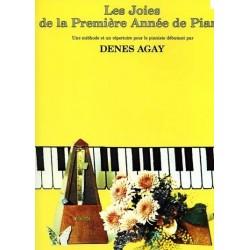 Les joies de la première année de piano Denes Agay
