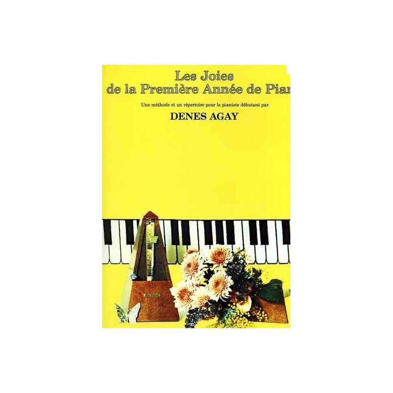 Les joies de la première année de piano Denes Agay Melody music caen