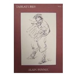 Tablatures Vol1 Alain Pennec