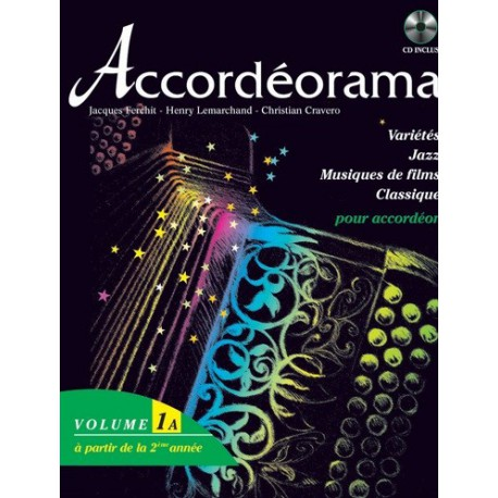 Accordéorama Vol1A Jacques Ferchit Melody music caen