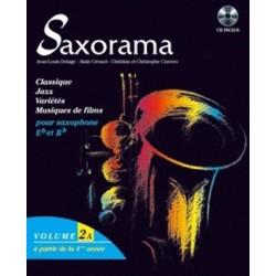 Saxorama vol2A Jean Louis Delage Melody music caen