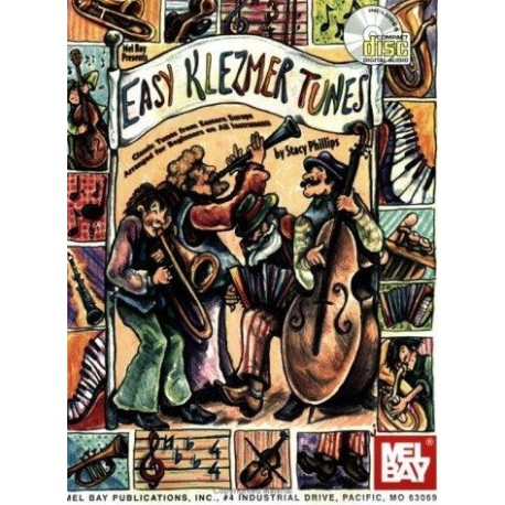 Easy Klezmer Tunes Stacy Phillips Melody music caen