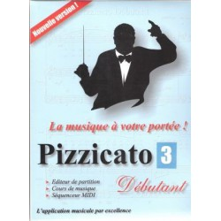 Pizzicato Logiciel Editeur de partitions Version Loisir Melody music caen