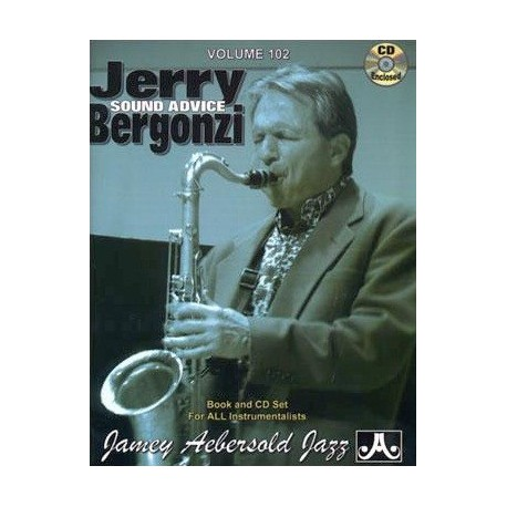 Jerry sound advice Bergonzi Vol102 Aebersold Melody music caen