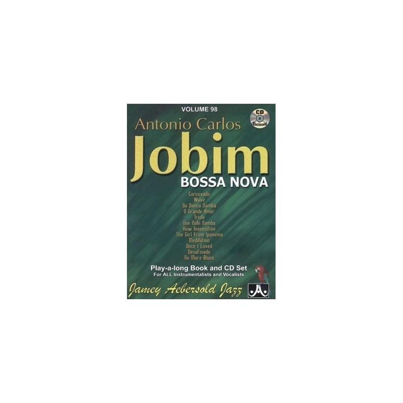 Antonio Carlos Jobim Vol98 Aebersold Melody music caen