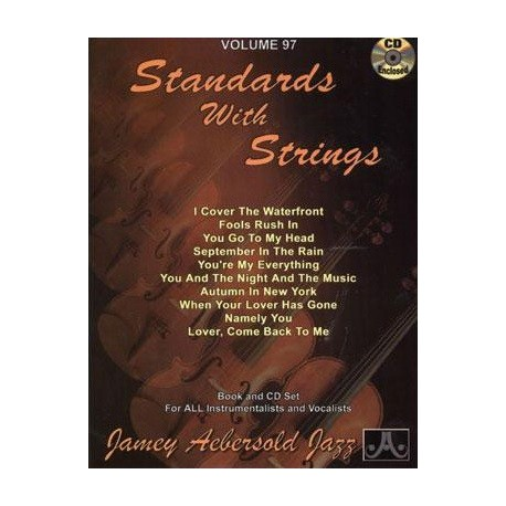Standards with strings Vol97 Aebersold Melody music caen