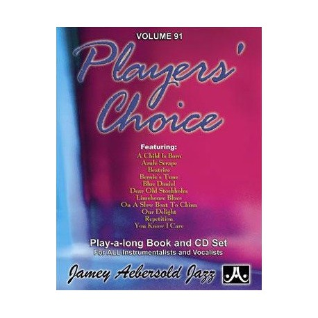 Players  choice Vol91 Aebersold Melody music caen