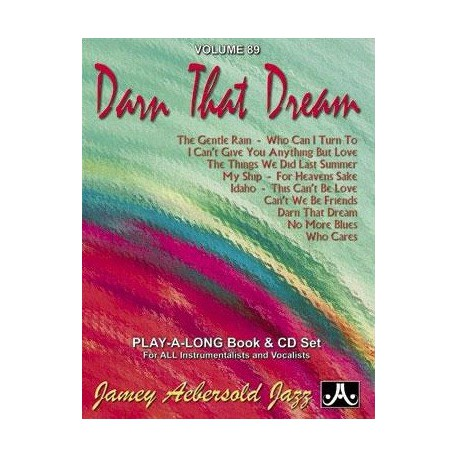 Darn that dream Vol89 Aebersold Melody music caen