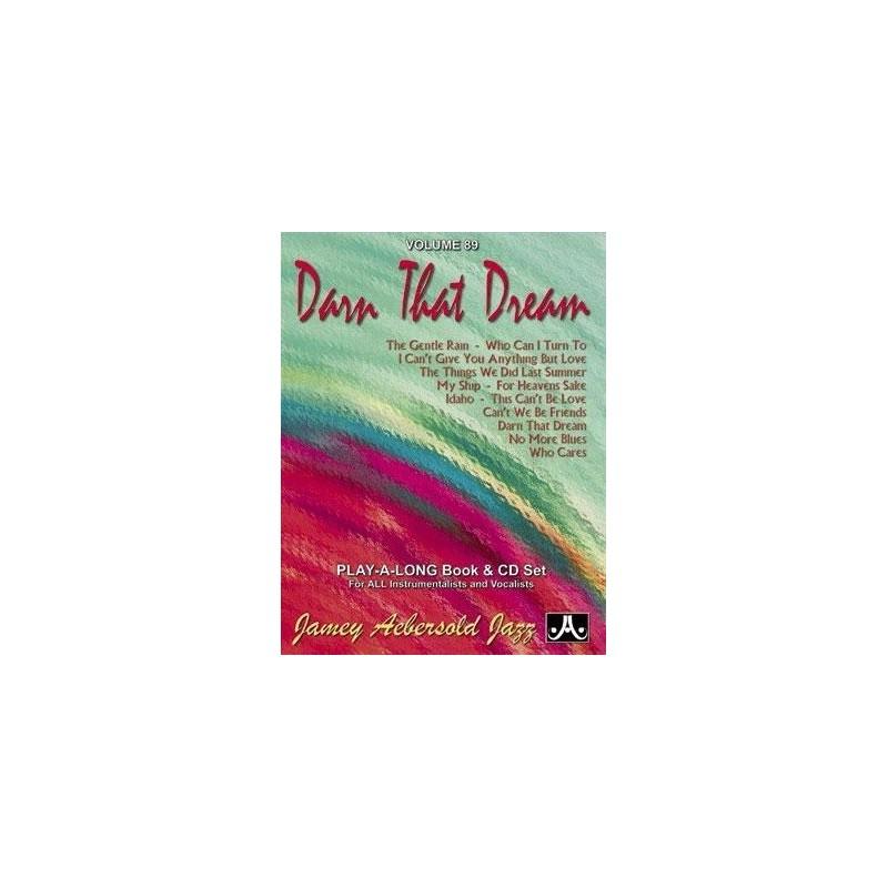 Darn that dream Vol89 Aebersold Melody music caen