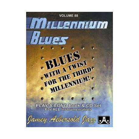 Millennium Blues Vol88 Aebersold Melody music caen