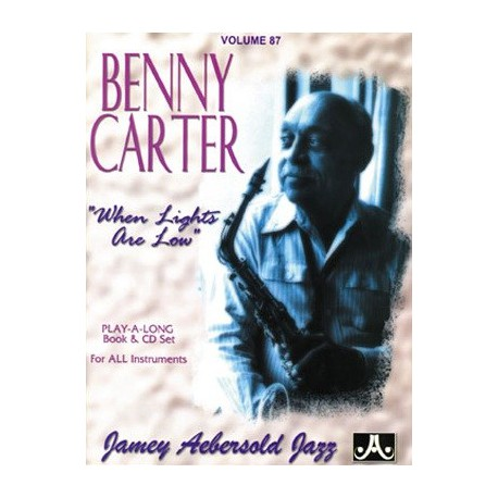 Benny Carter Vol87 Aebersold Melody music caen