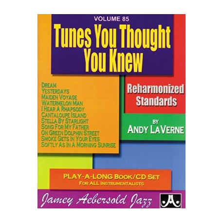 Tunes you thought you knew Vol85 Aebersold Melody music caen