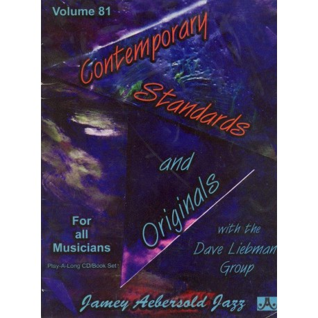 Contemporary standards and originals Vol81 Aebersold Melody music caen