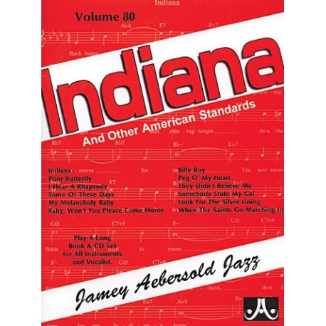Indiana Vol80 Aebersold Melody music caen