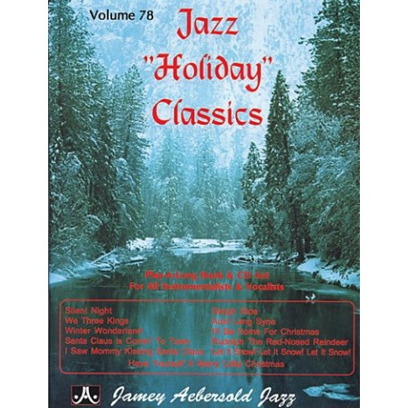 Jazz Holiday Classics vol78 Aebersold Melody music caen