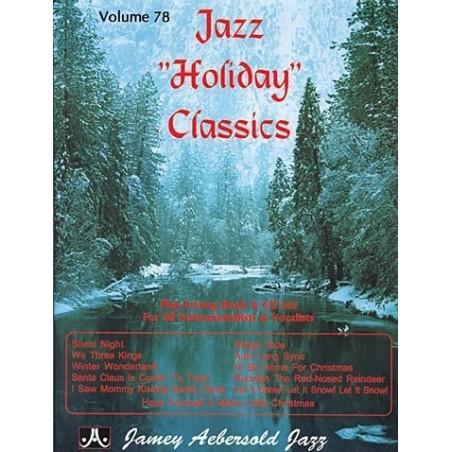 Aebersold vol78 Jazz Holiday Classics