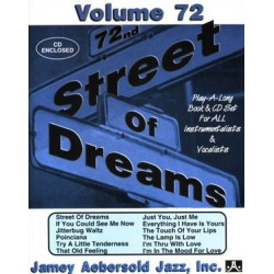 Aebersold Vol72 Street of dreams