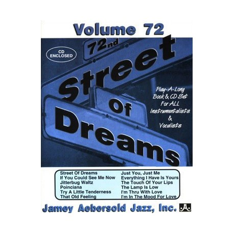 Street of dreams Vol72 Aebersold Melody music caen