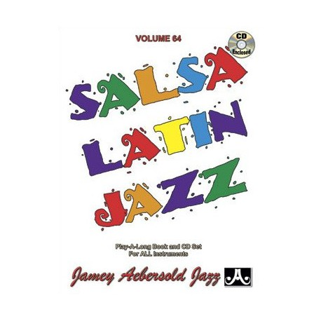 Salsa Latin Jazz Vol64 Aebersold Melody music caen