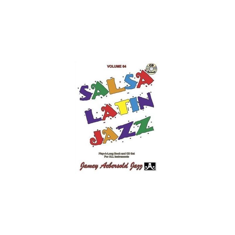 Salsa Latin Jazz Vol64 Aebersold Melody music caen