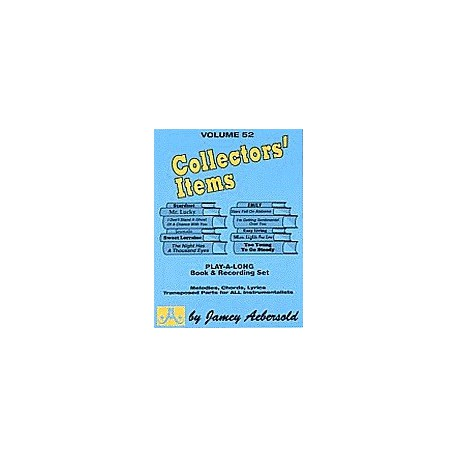 Collectors  Items Vol52 Aebersold Melody music caen
