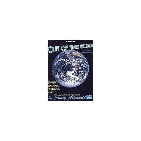 Out of this world vol46 Aebersold Melody music caen
