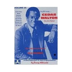Cedar Walton Vol35 Aebersold Melody music caen