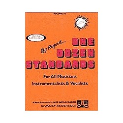 One dozen standards vol23 Aebersold Melody music caen