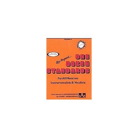 Aebersold vol23 One dozen standards