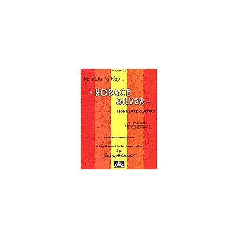 Horace Silver vol17 Aebersold Melody music caen